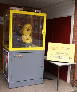 FANUC supporting Coventry's King Henry VIII School Open Morning....